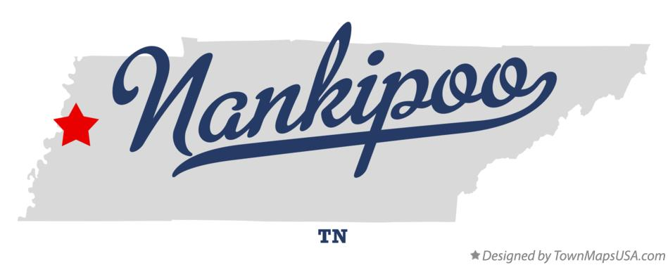 Map of Nankipoo Tennessee TN