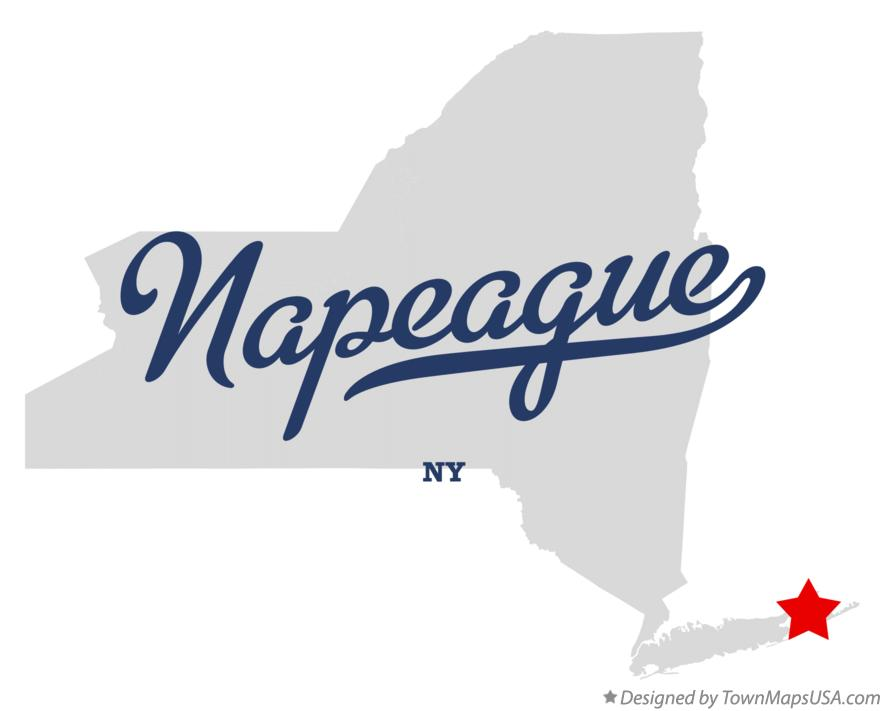 Map of Napeague New York NY