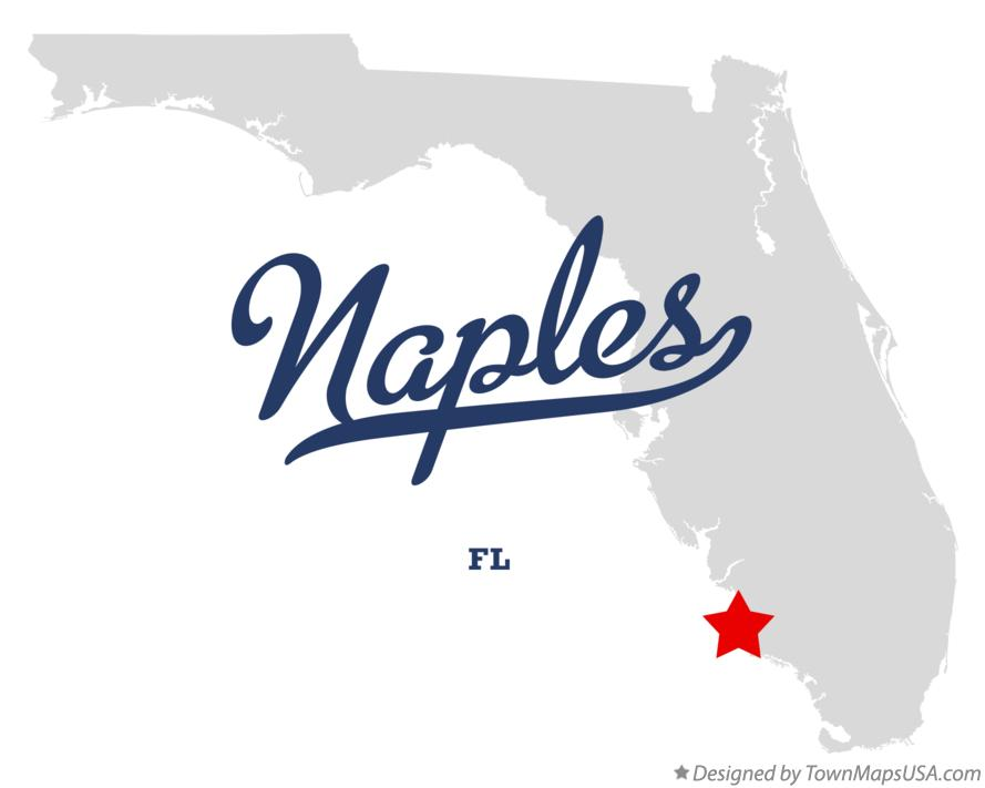 Map Of Naples Fl Florida
