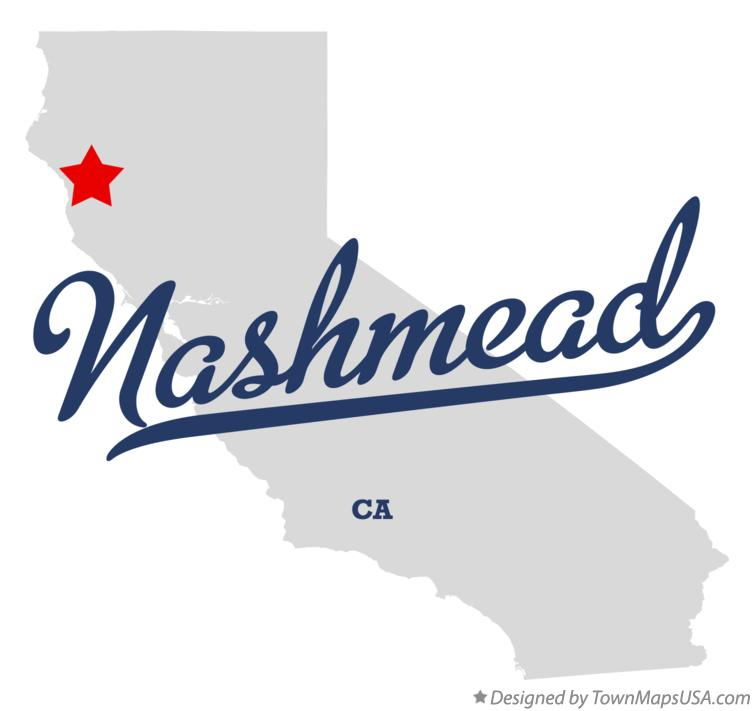 Map of Nashmead California CA
