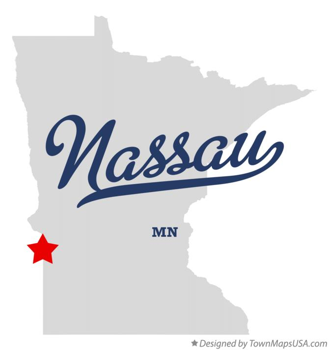 Map of Nassau Minnesota MN