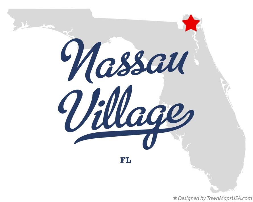 Map of Nassau Village Florida FL