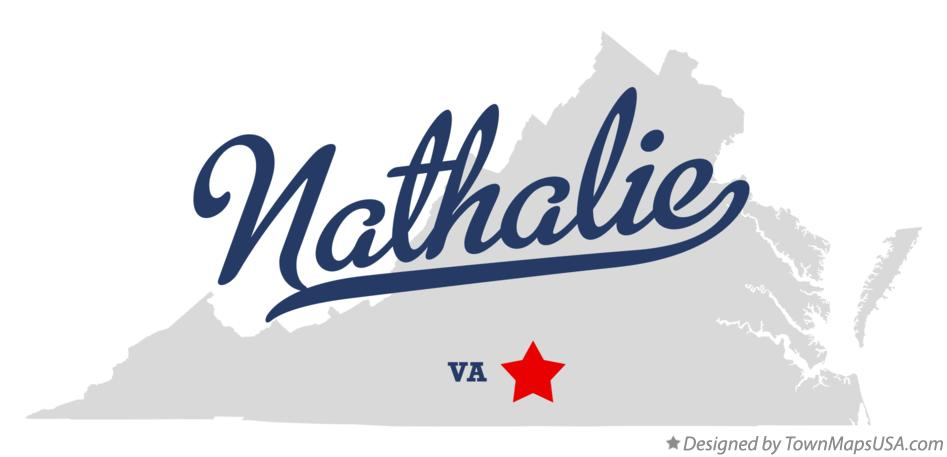 Map of Nathalie Virginia VA