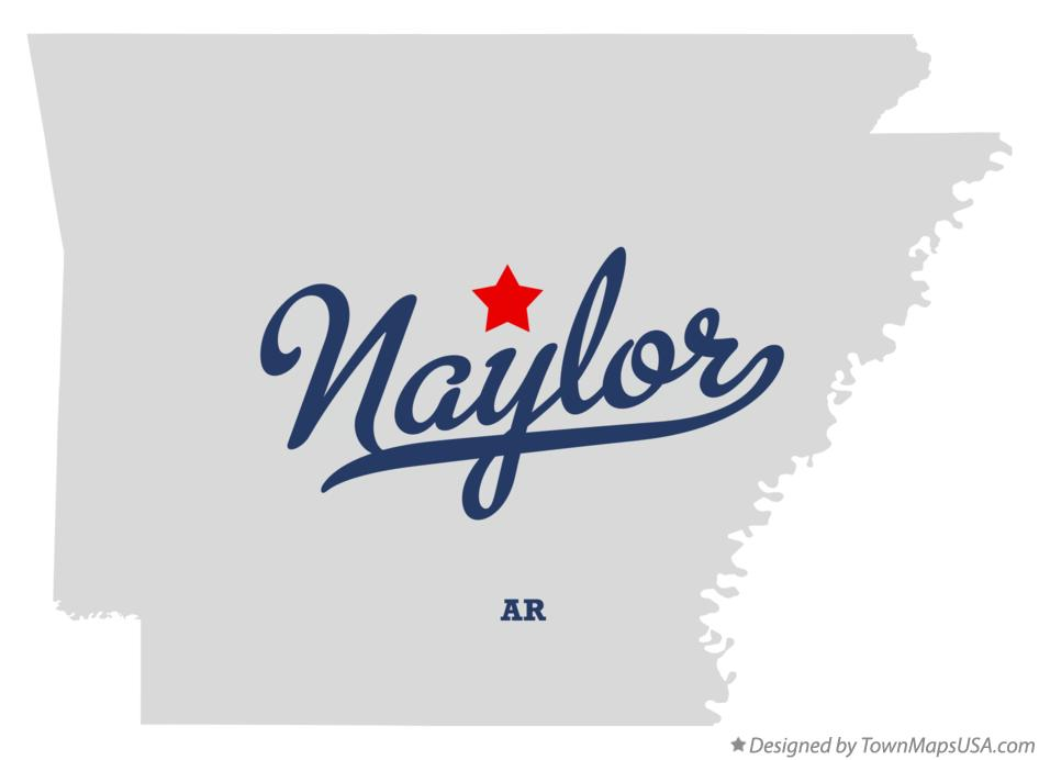 Map of Naylor Arkansas AR