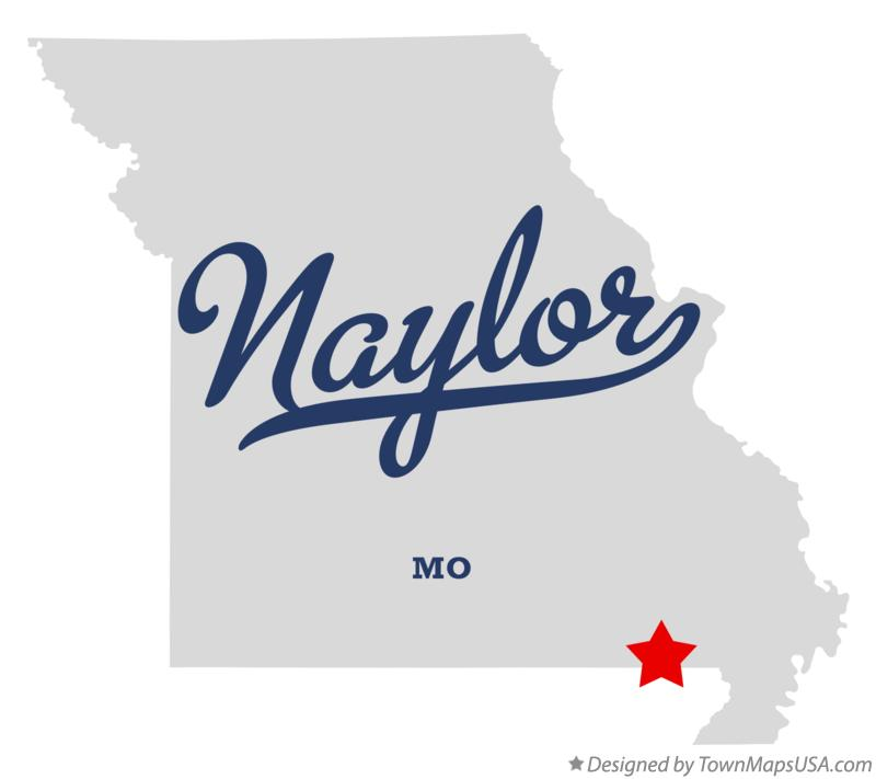 Map of Naylor Missouri MO