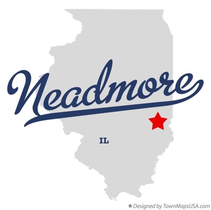 Map of Neadmore Illinois IL