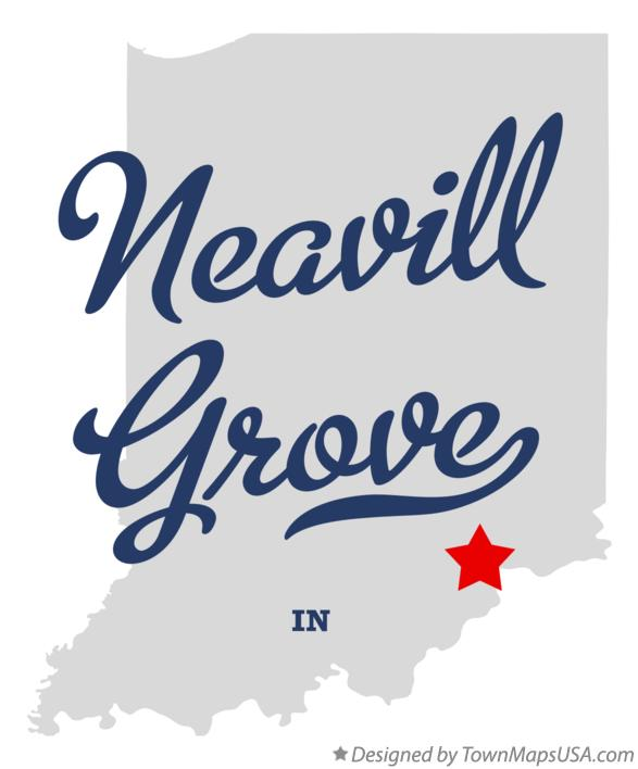 Map of Neavill Grove Indiana IN