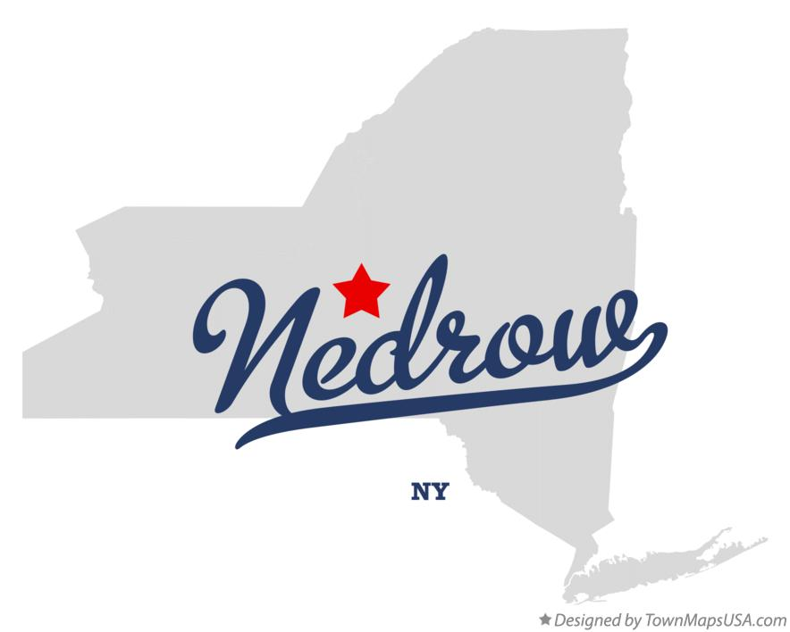 Map of Nedrow New York NY