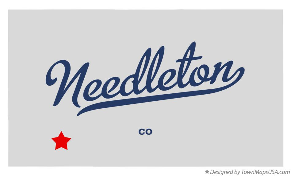 Map of Needleton Colorado CO