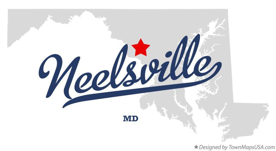 Map of Neelsville Maryland MD