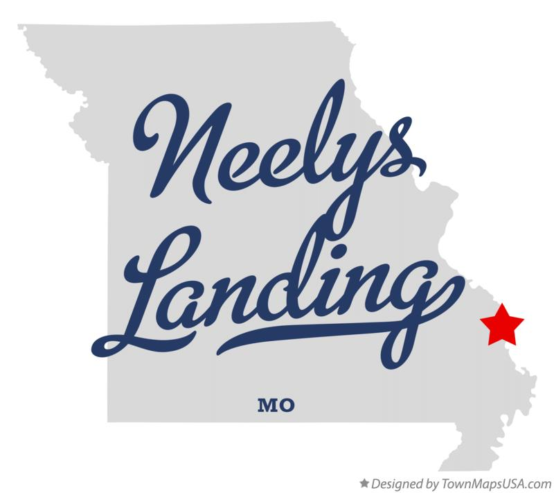 Map of Neelys Landing Missouri MO