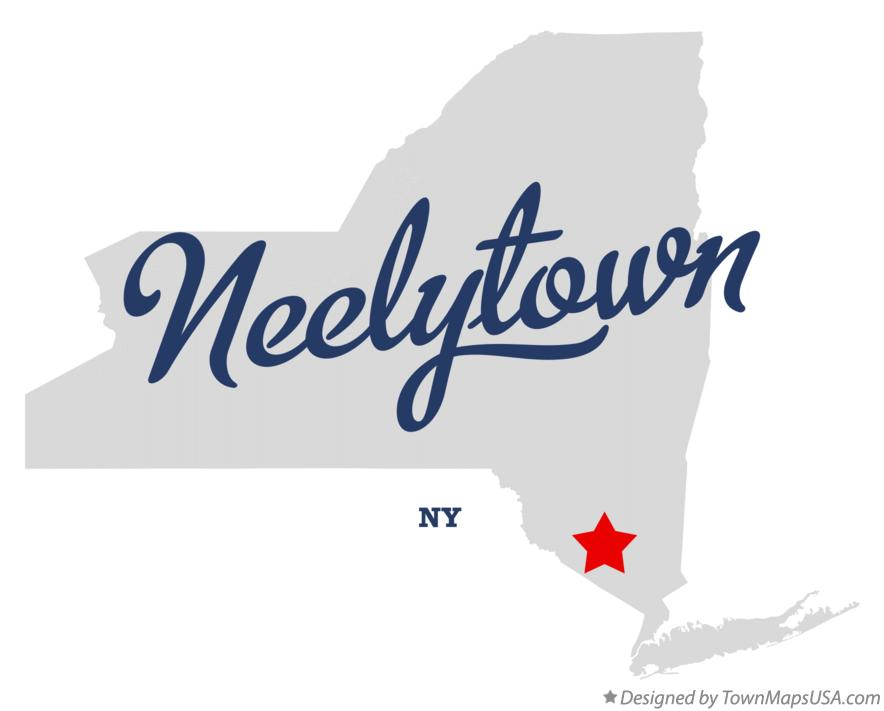 Map of Neelytown New York NY