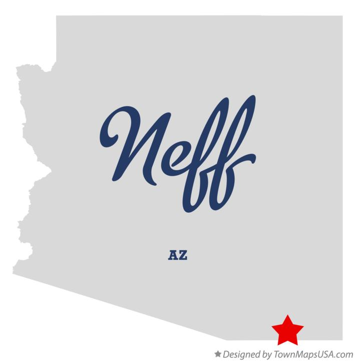 Map of Neff Arizona AZ