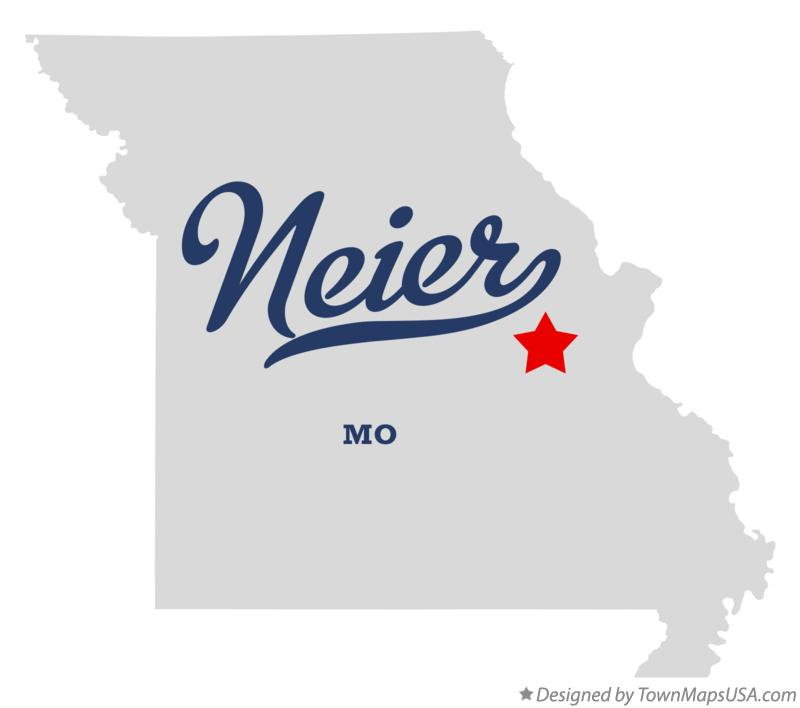 Map of Neier Missouri MO