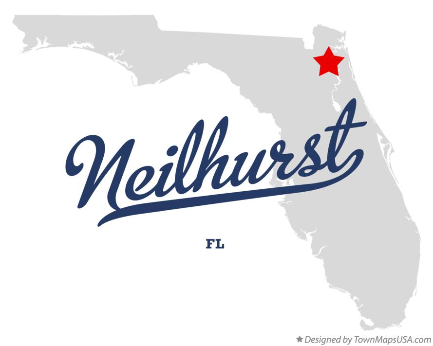 Map of Neilhurst Florida FL