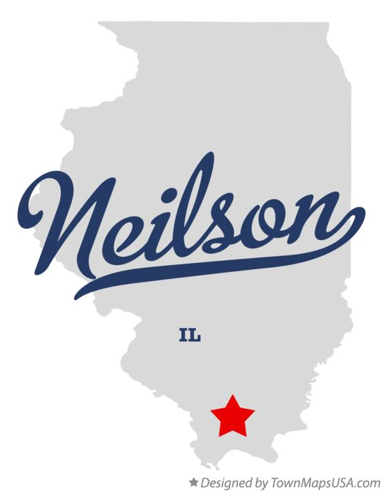 Map of Neilson Illinois IL