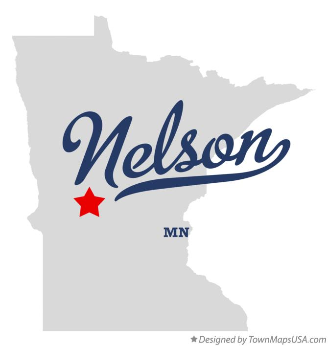 Map of Nelson Minnesota MN