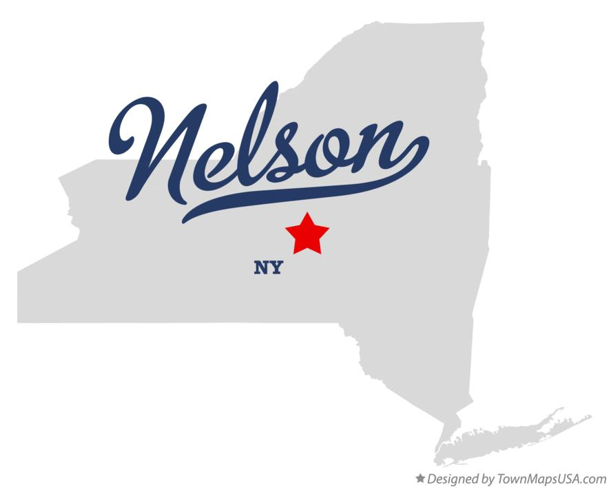 Map of Nelson New York NY