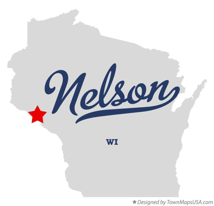 Map of Nelson Wisconsin WI