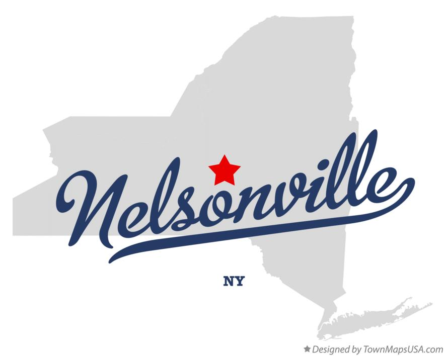 Map of Nelsonville New York NY