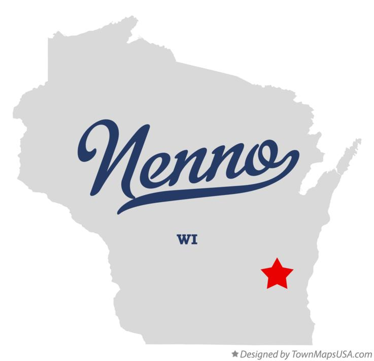 Map of Nenno Wisconsin WI