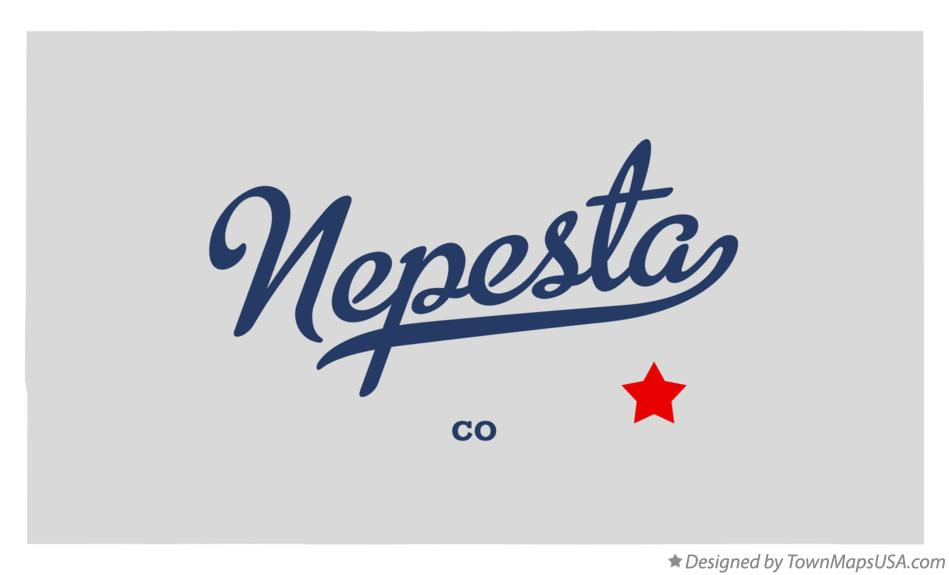 Map of Nepesta Colorado CO