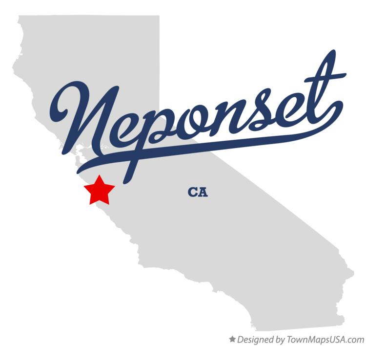 Map of Neponset California CA