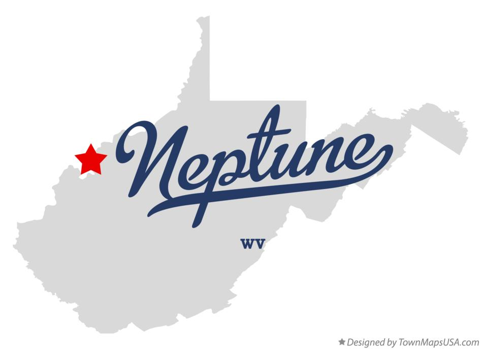 Map of Neptune West Virginia WV