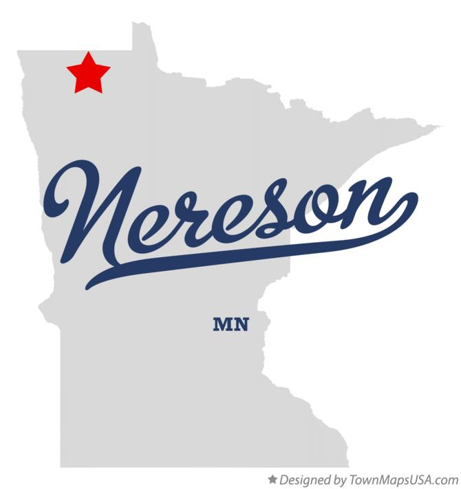 Map of Nereson Minnesota MN
