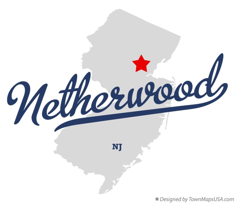 Map of Netherwood New Jersey NJ