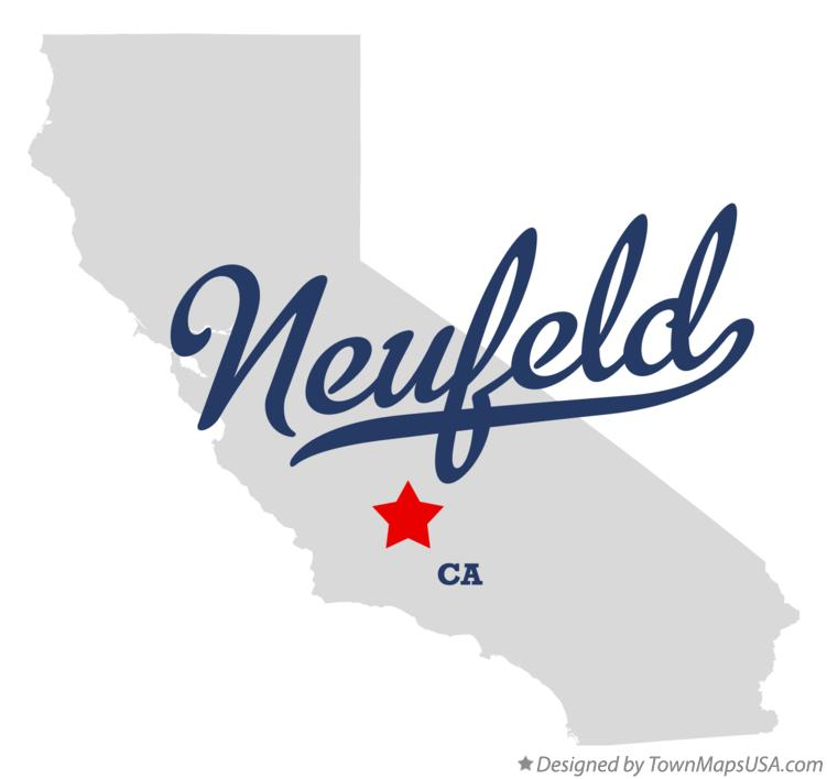 Map of Neufeld California CA