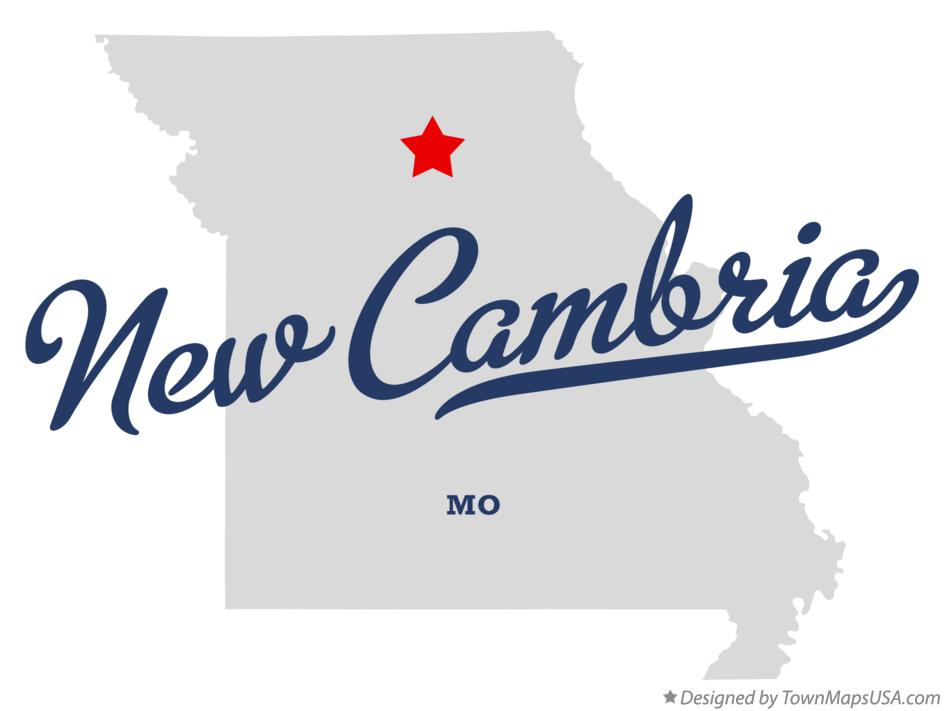 Map of New Cambria Missouri MO