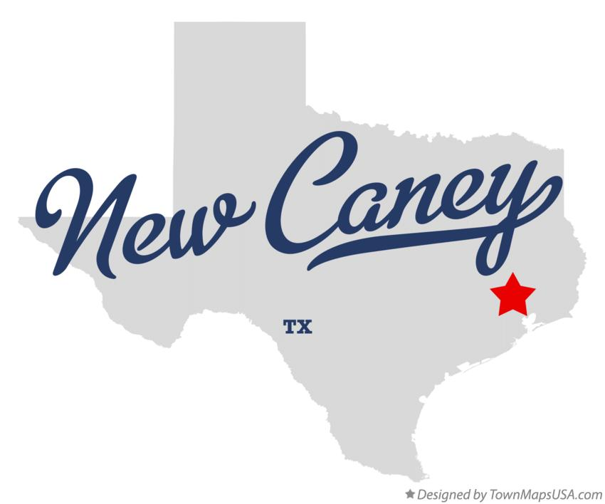 Map of New Caney Texas TX