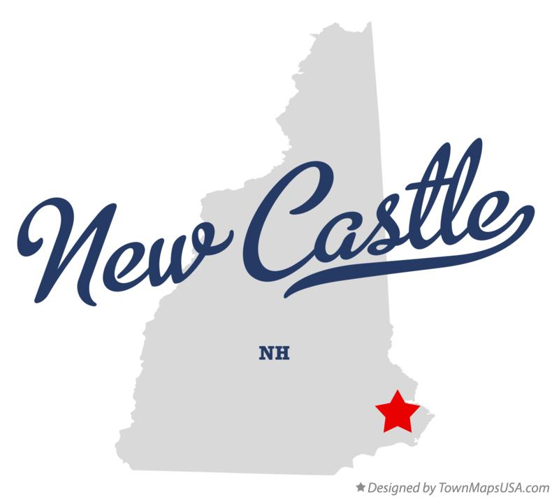 Map of New Castle New Hampshire NH