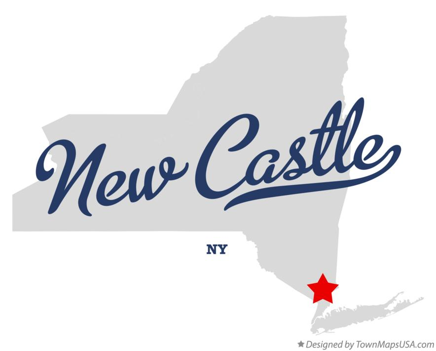 Map of New Castle New York NY