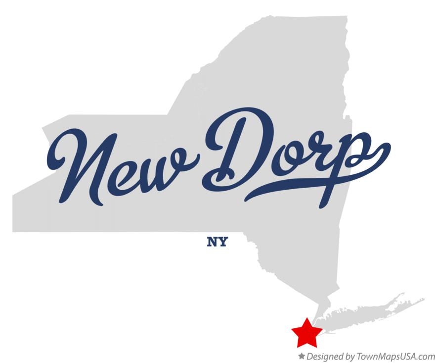 Map of New Dorp New York NY