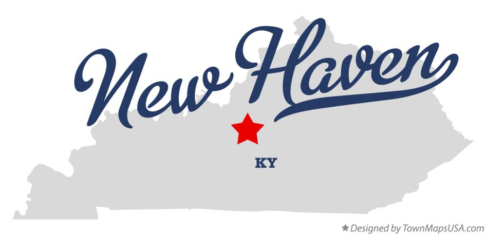 Map of New Haven Kentucky KY