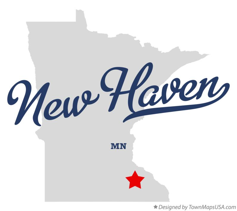 Map of New Haven Minnesota MN