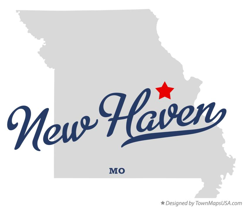 Map of New Haven Missouri MO