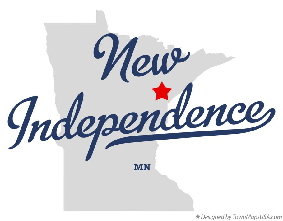 Map of New Independence Minnesota MN