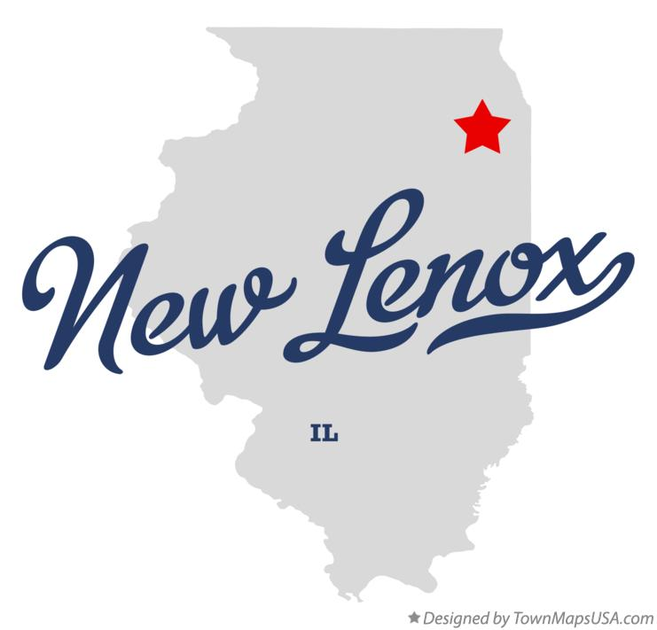 Map of New Lenox Illinois IL