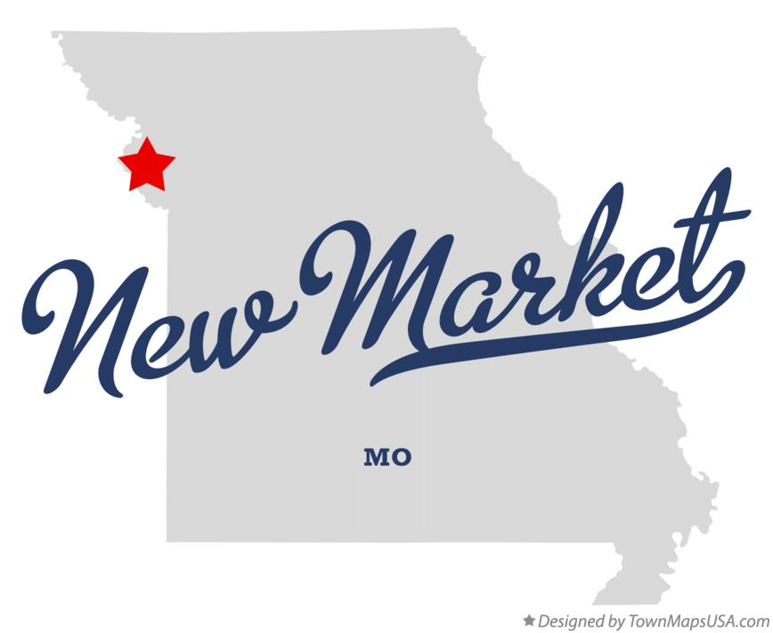 Map of New Market Missouri MO