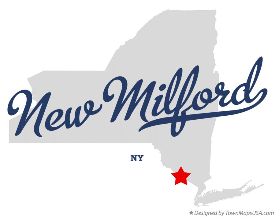 Map of New Milford New York NY