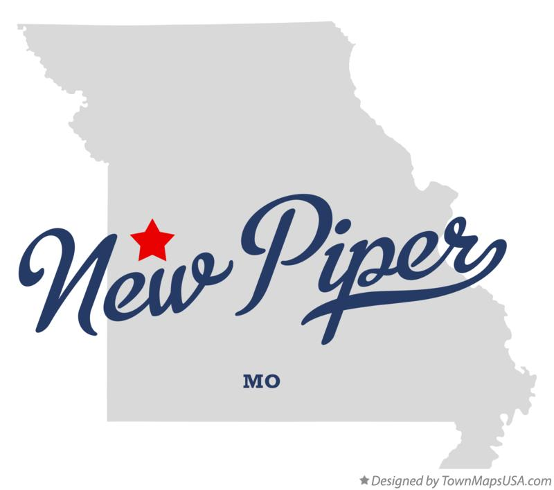 Map of New Piper Missouri MO