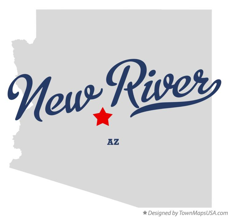 Map of New River Arizona AZ