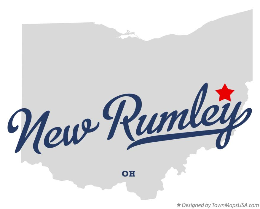 Map of New Rumley Ohio OH