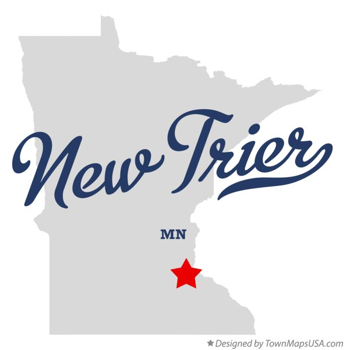Map of New Trier Minnesota MN