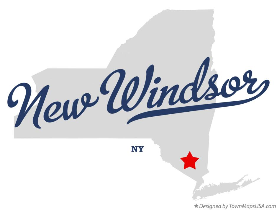 Map of New Windsor New York NY