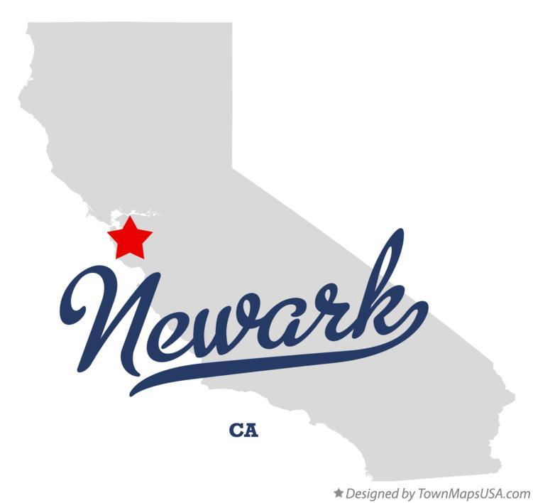 Map Of Newark Ca California