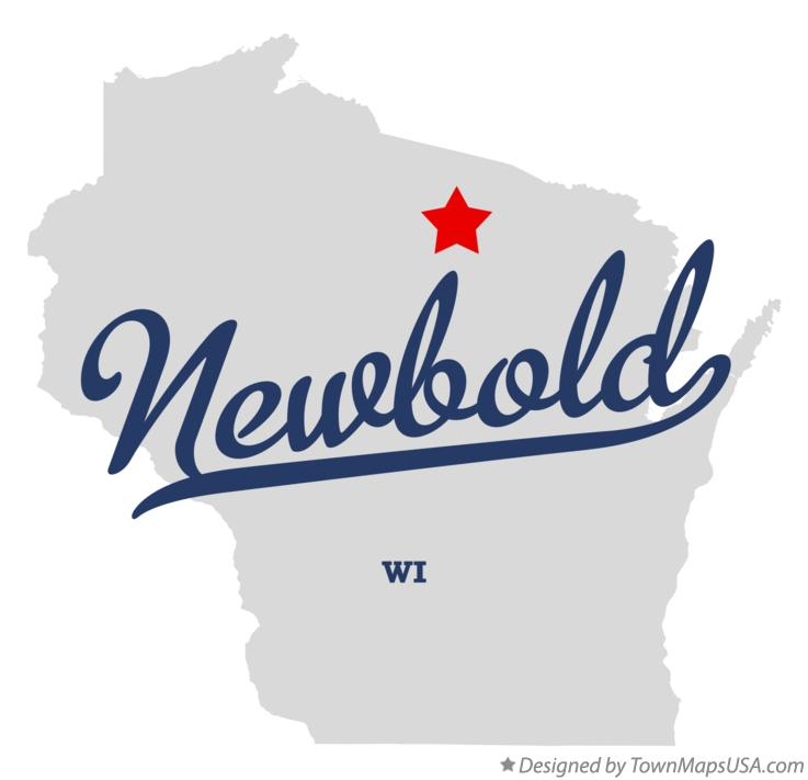 Map of Newbold Wisconsin WI